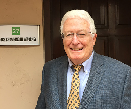 George Browning III a professional legal attorney in Sarasota, FL.